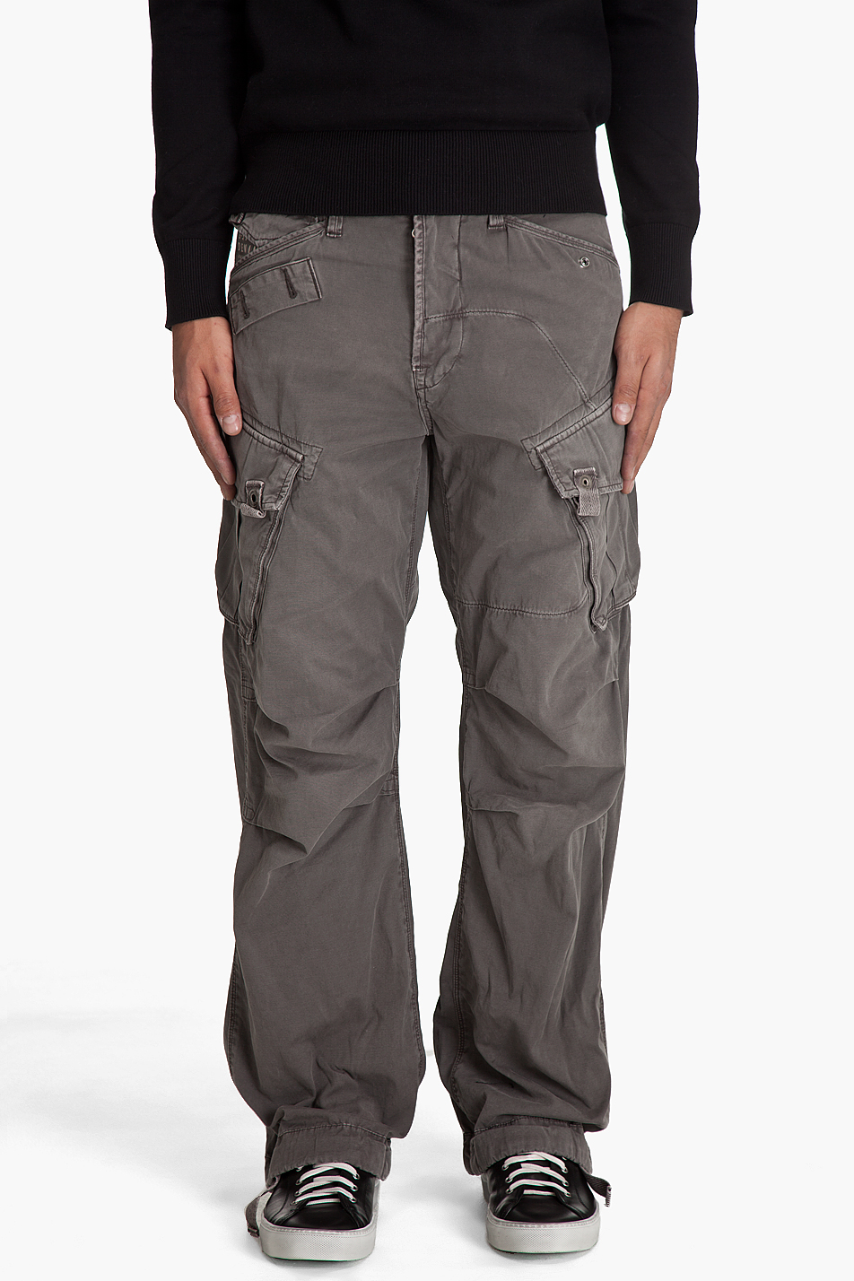 G Star Raw Rovic Loose Cargo Pants In Brown For Men Lyst