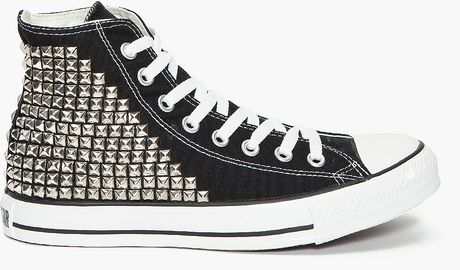 What Goes Around Comes Around Custom Super Stud Sneakers in Black for Men
