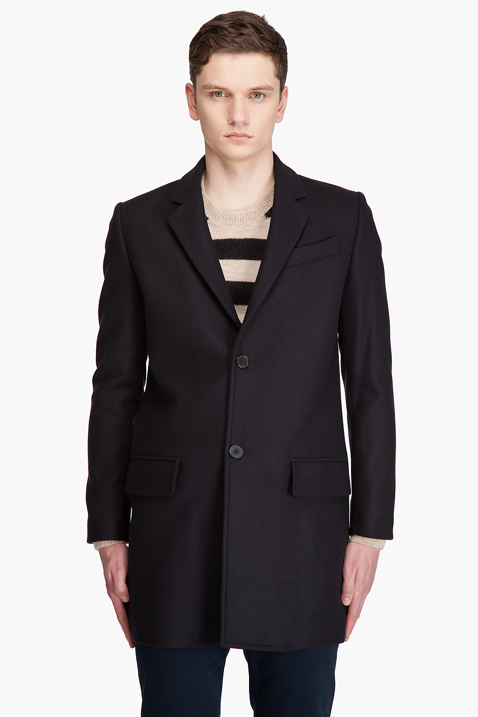 Collection Navy Pea Coat Mens Pictures - Reikian