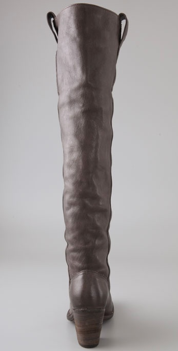 919bdaf8563 Lyst - Frye Taylor Over The Knee Boots in Brown