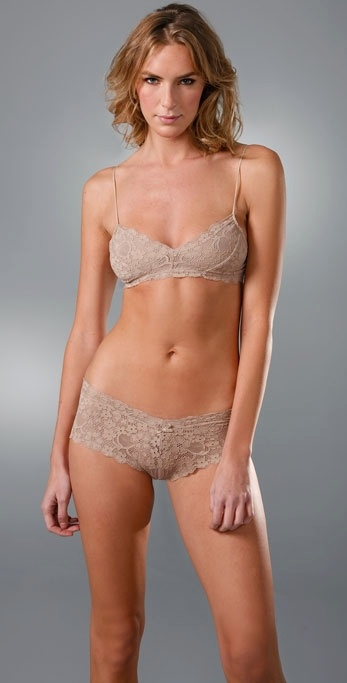 160dc31a8e6b8 Lyst - Honeydew Intimates Camellia Bralette in Brown