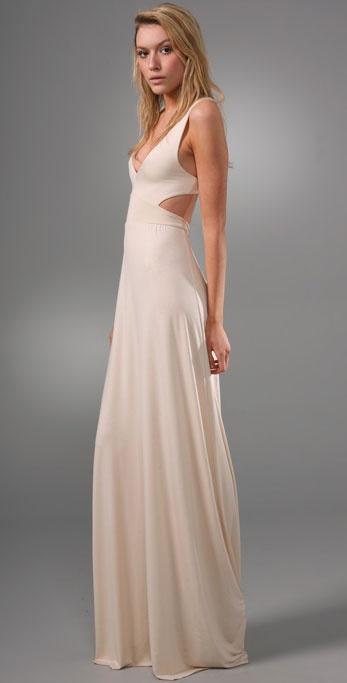 Rachel pally Long Cutout Dress in Natural  Lyst