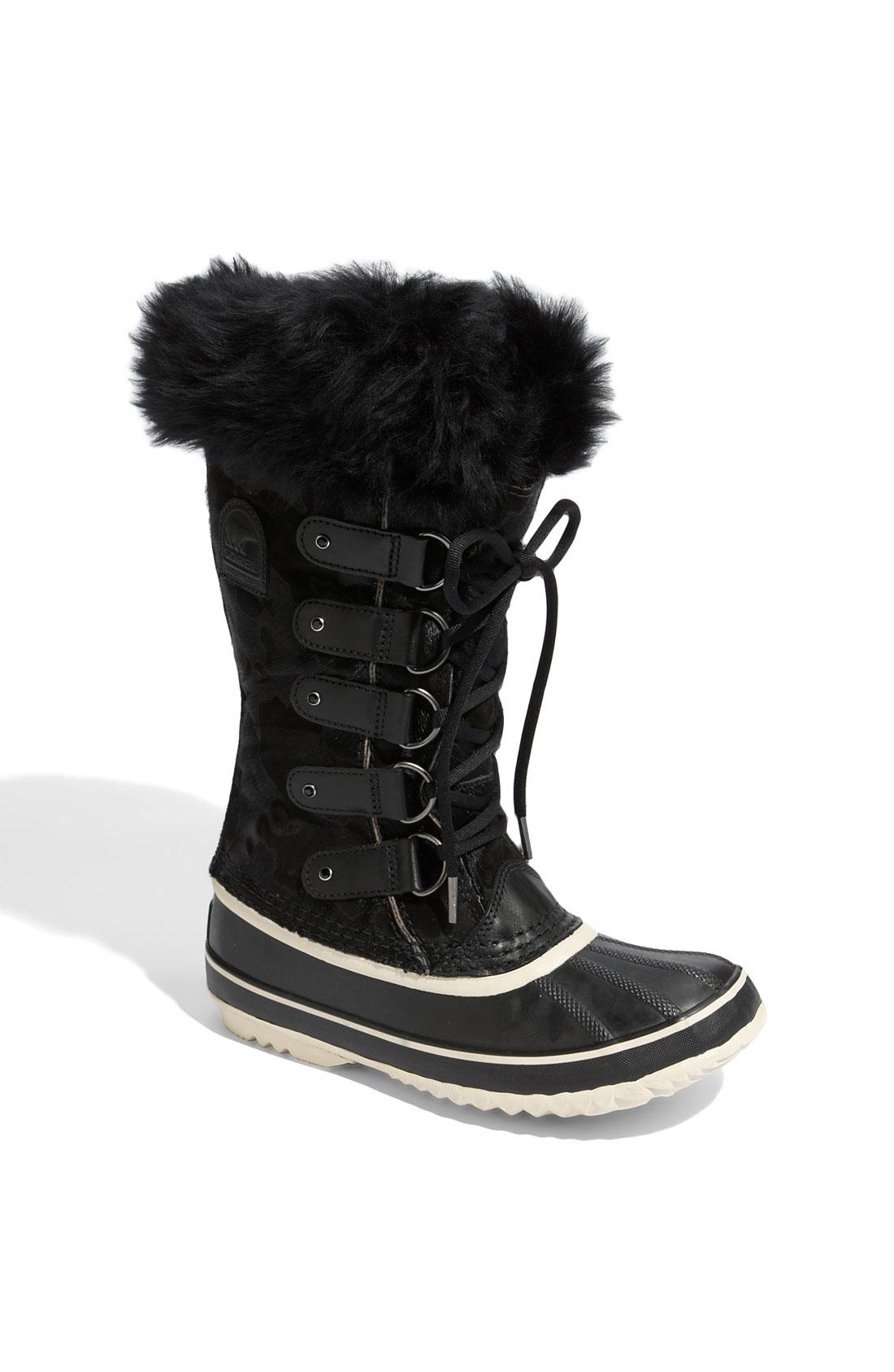 Sorel Joan Of Arctic Boot In Black Lyst