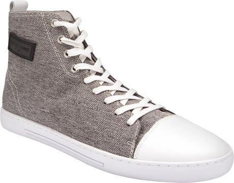 Android Homme Craft Hi-top Shoes in Gray for Men (white