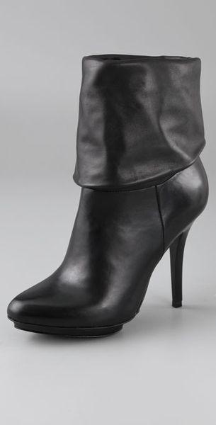 schutz high heel convertible boots in black lyst