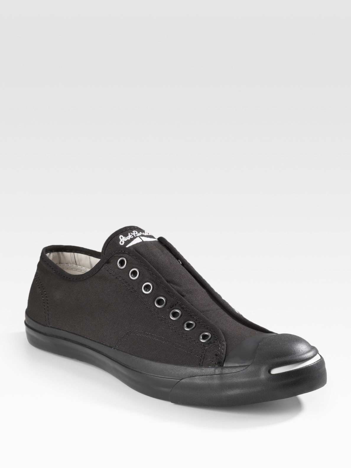 6aeb5e132080a4 Lyst - Converse Jack Purcell Slip On in Black for Men