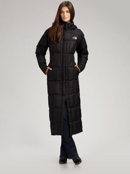 about THE NORTH FACE LONG Women s BLACK PUFFER GOOSE DOWN COAT COZY XL