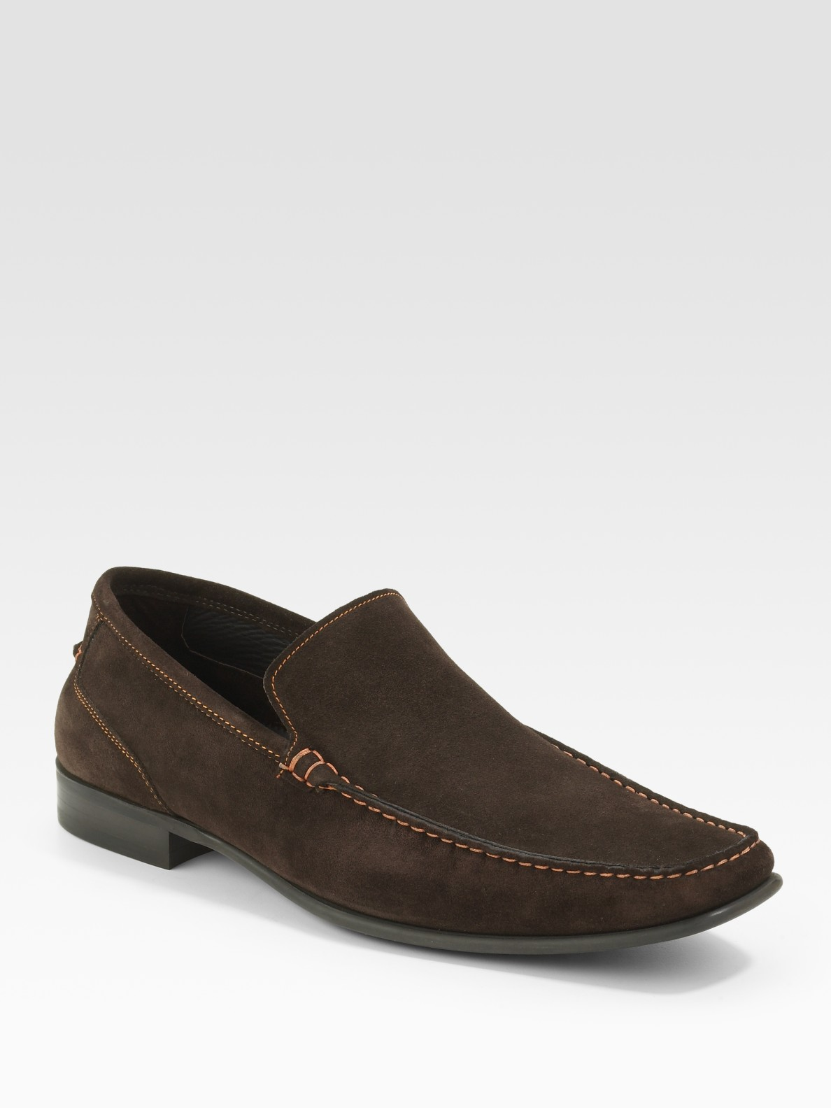 Lyst To Boot Suede Loafers In Brown For Men