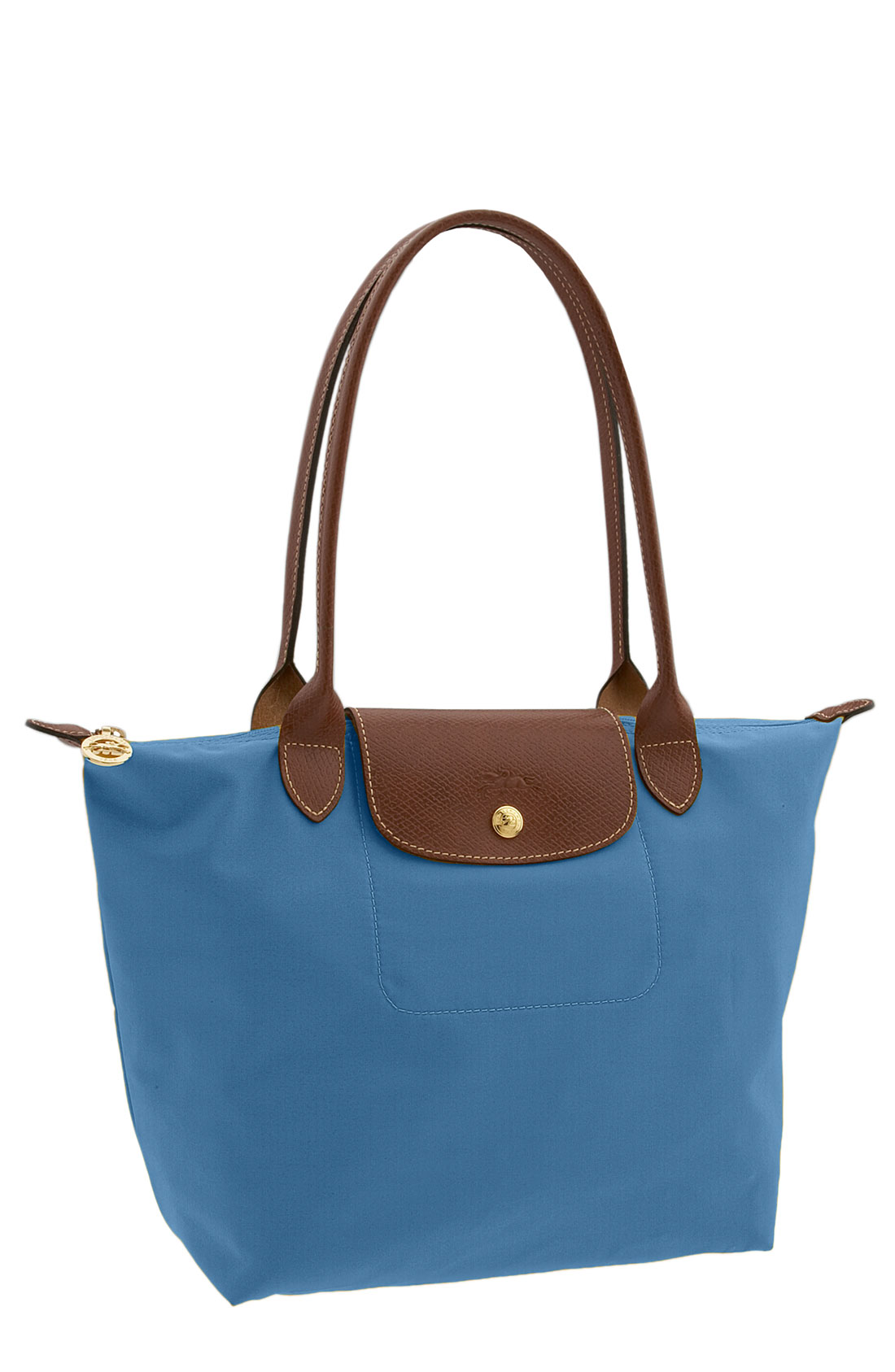 longch le pliage tote bag in blue lagoon lyst