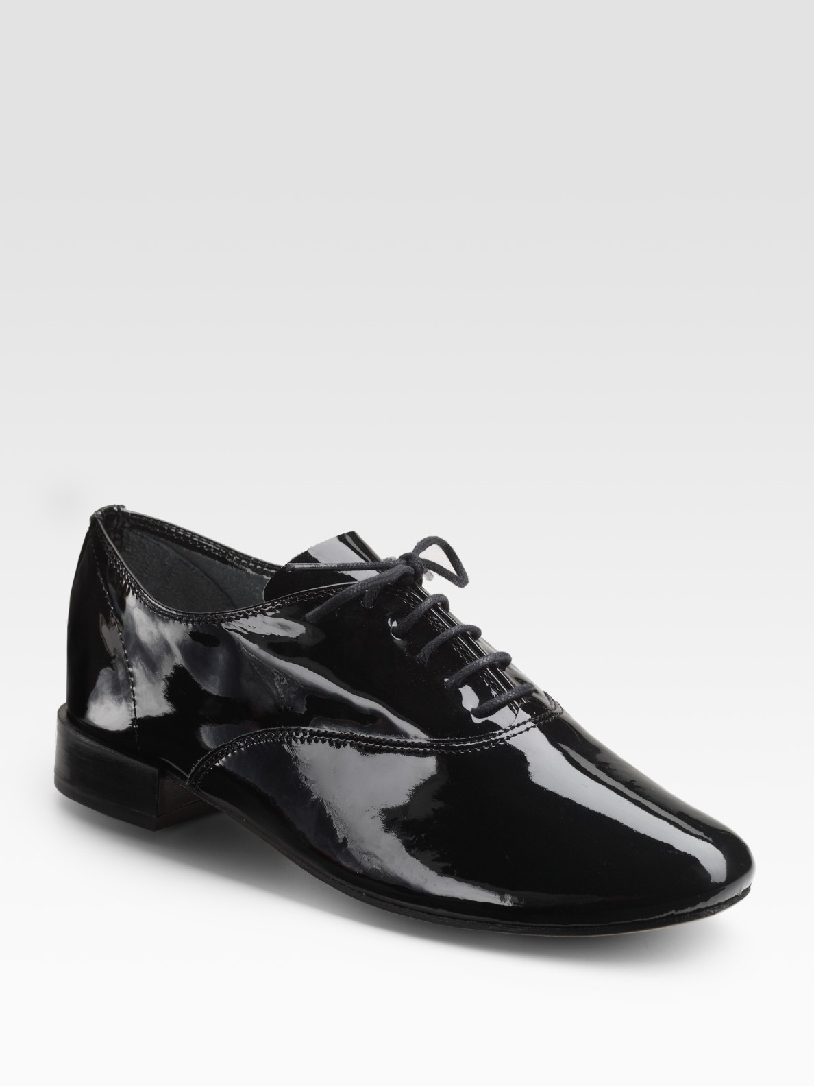 Geniue Stockist Sale Online Many Kinds Of Black Patent Zizi Oxfords Repetto 6NFh4