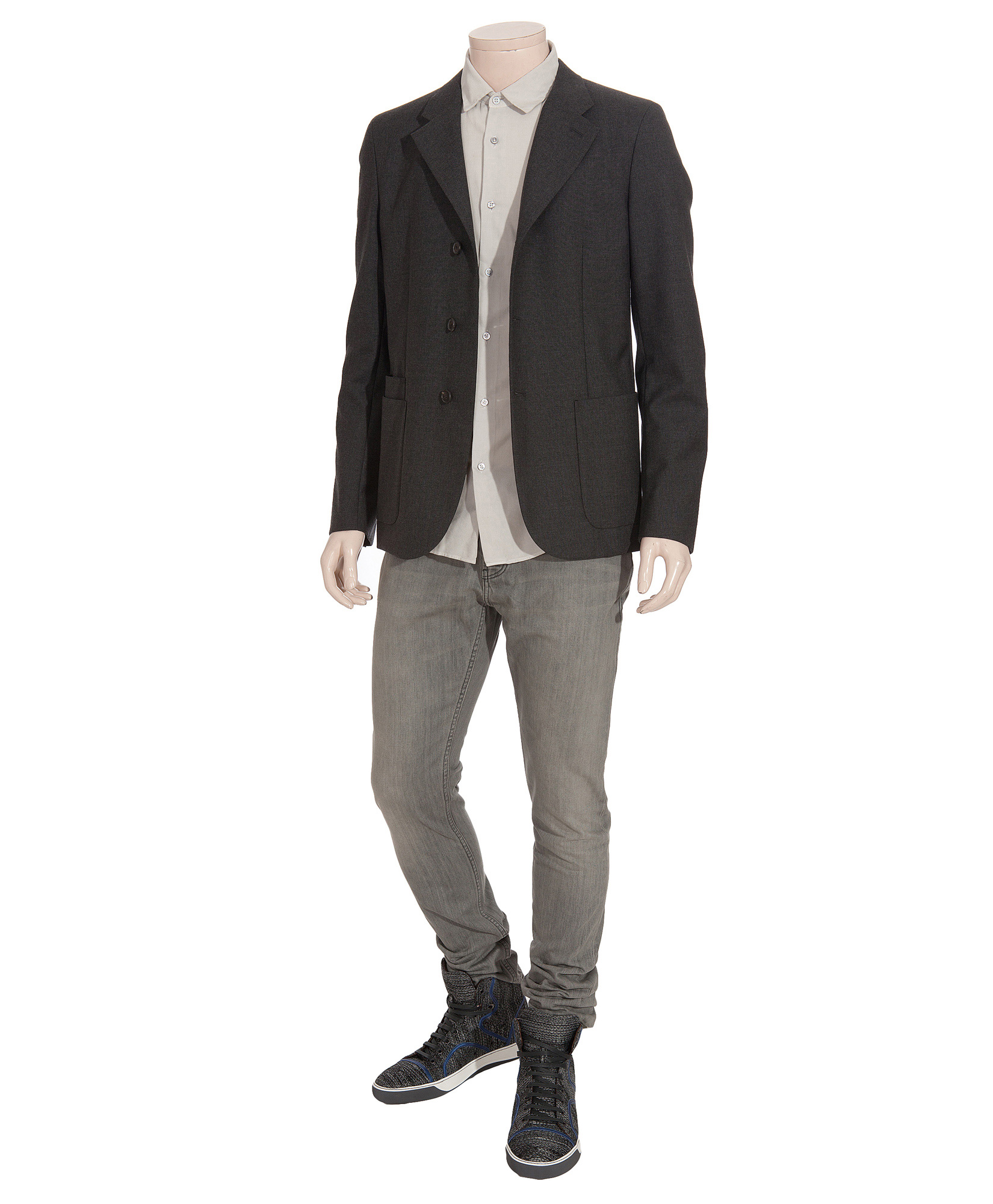 Burberry Brit Shoreditch - Grey in Grey for Men