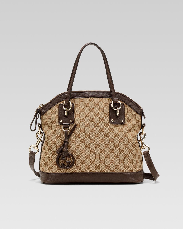 543a27b4c7fe Lyst Gucci Charm Medium Top Handle Bag In Natural. Gucci Charm Handbag Best  Women Handbags. Studded Leather Lady Key ...