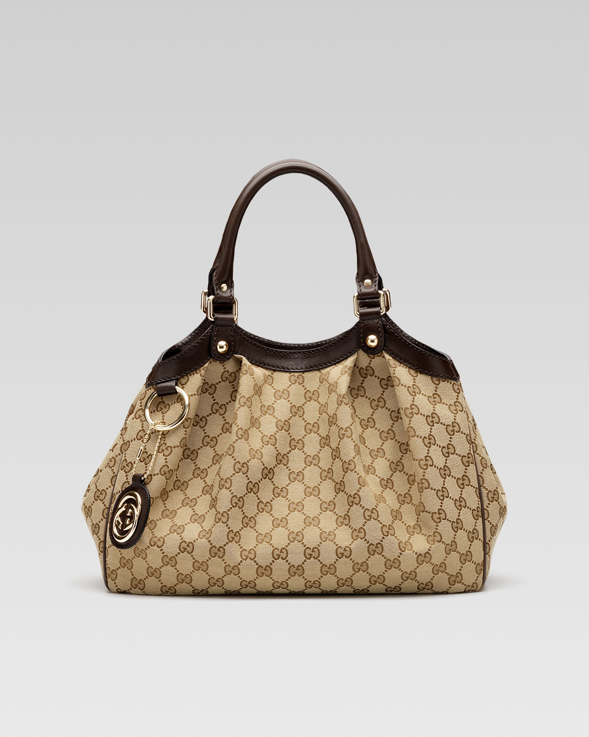 gucci large sukey tote bag in beige