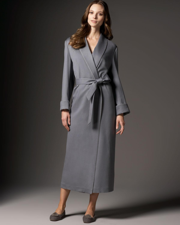 Unique Grey Cashmere Dressing Gown Illustration - Top Wedding Gowns ...