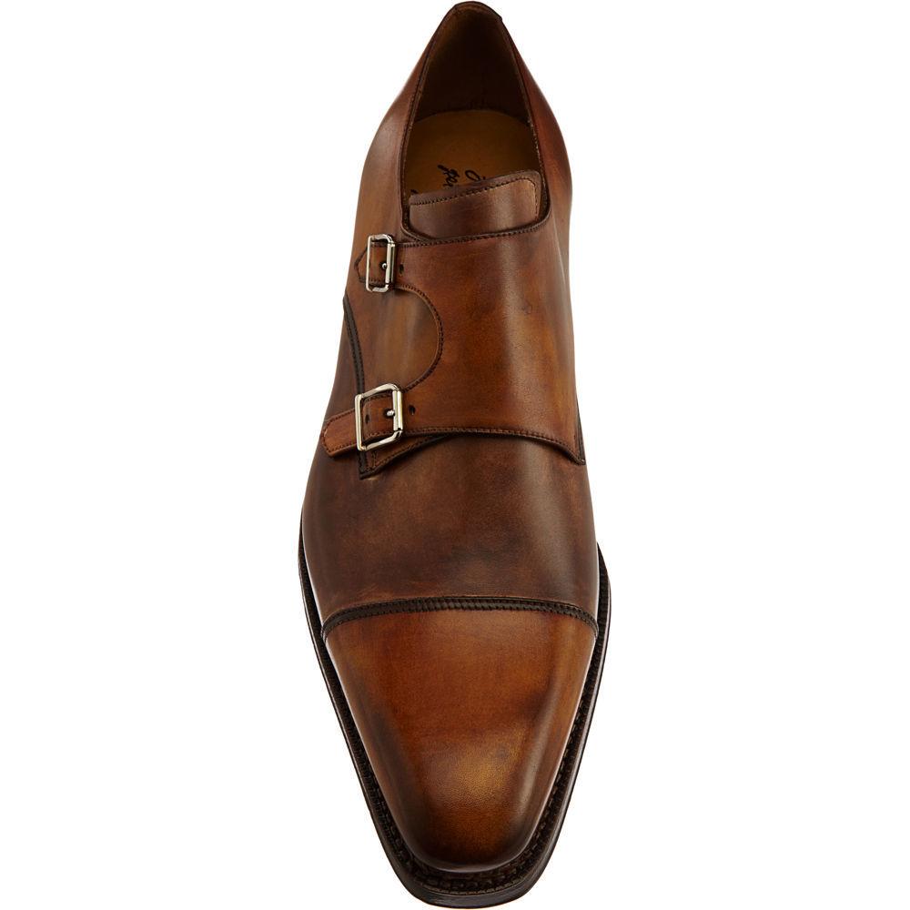 Mens Stitch-Detail Monk-Strap Shoes Harris 4i2IrUIp