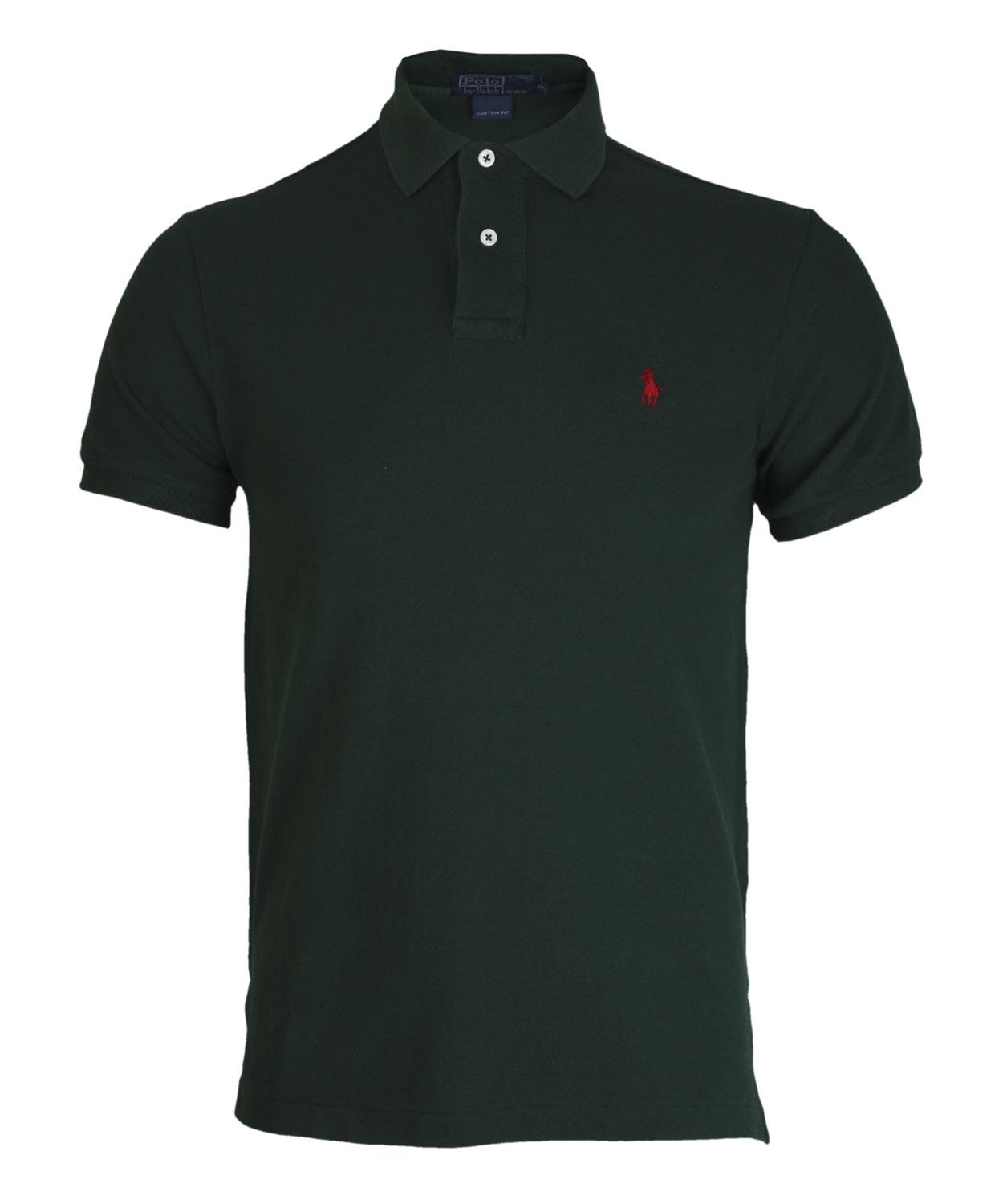 polo ralph lauren dark green polo shirt in green for men lyst. Black Bedroom Furniture Sets. Home Design Ideas