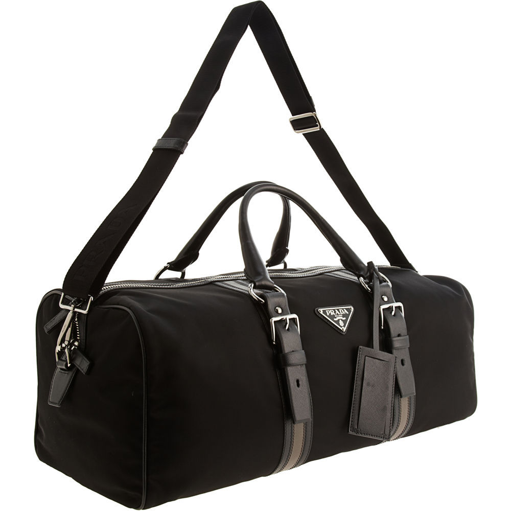 15030f7e236f25 Prada Duffle Bag in Black for Men - Lyst