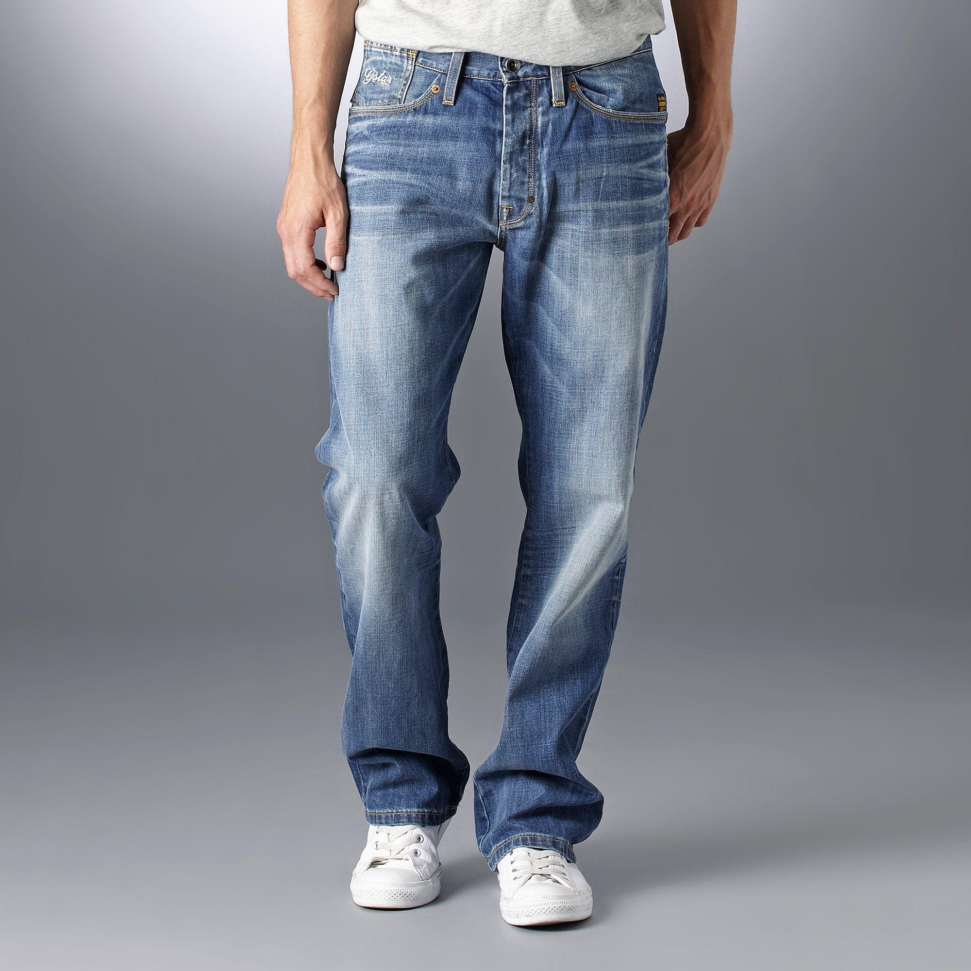 överlägsen kvalitet skridsko skor eleganta skor G-Star RAW Coder Straight Jeans in Blue for Men - Lyst