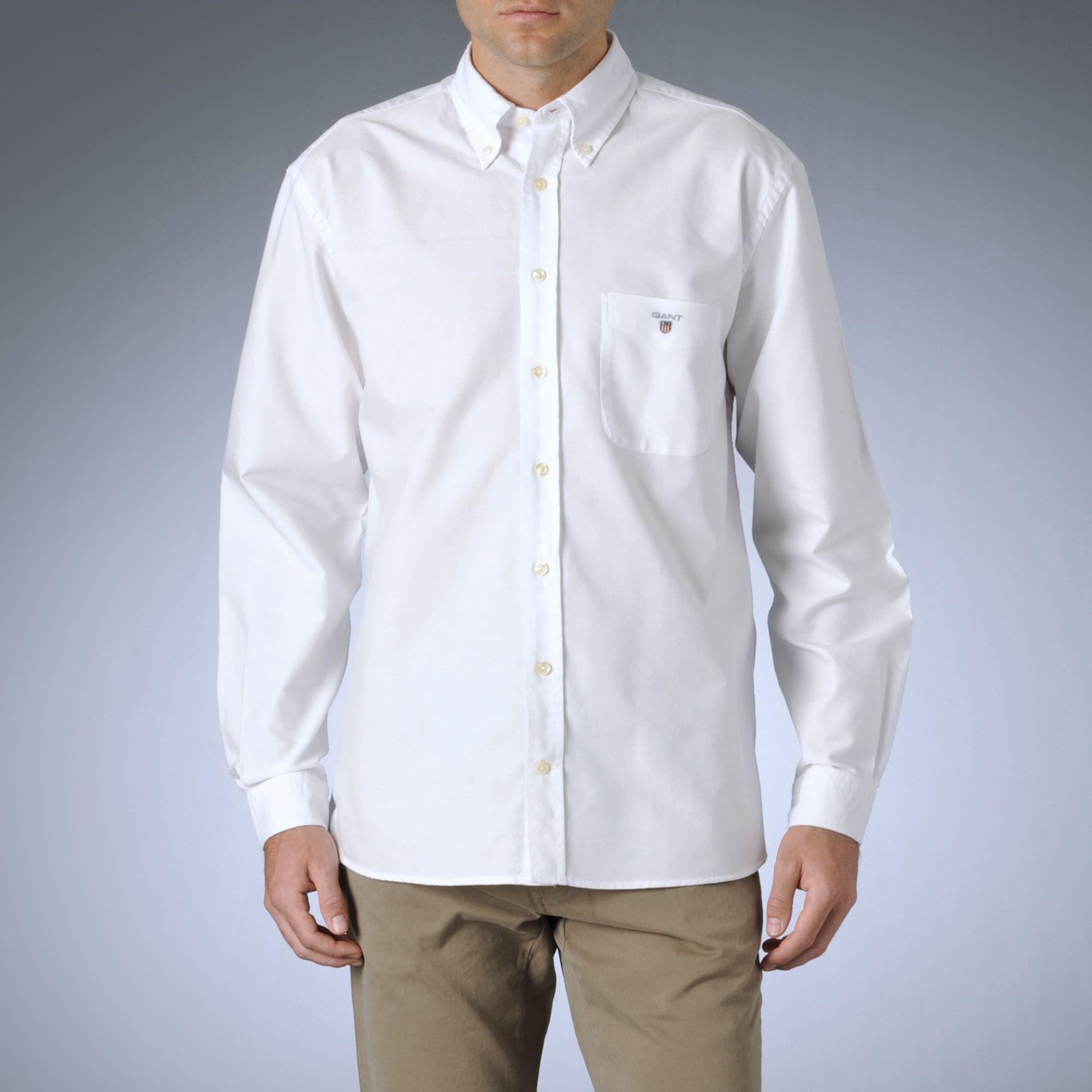 0e683faf2 GANT White Oxford Shirt for men