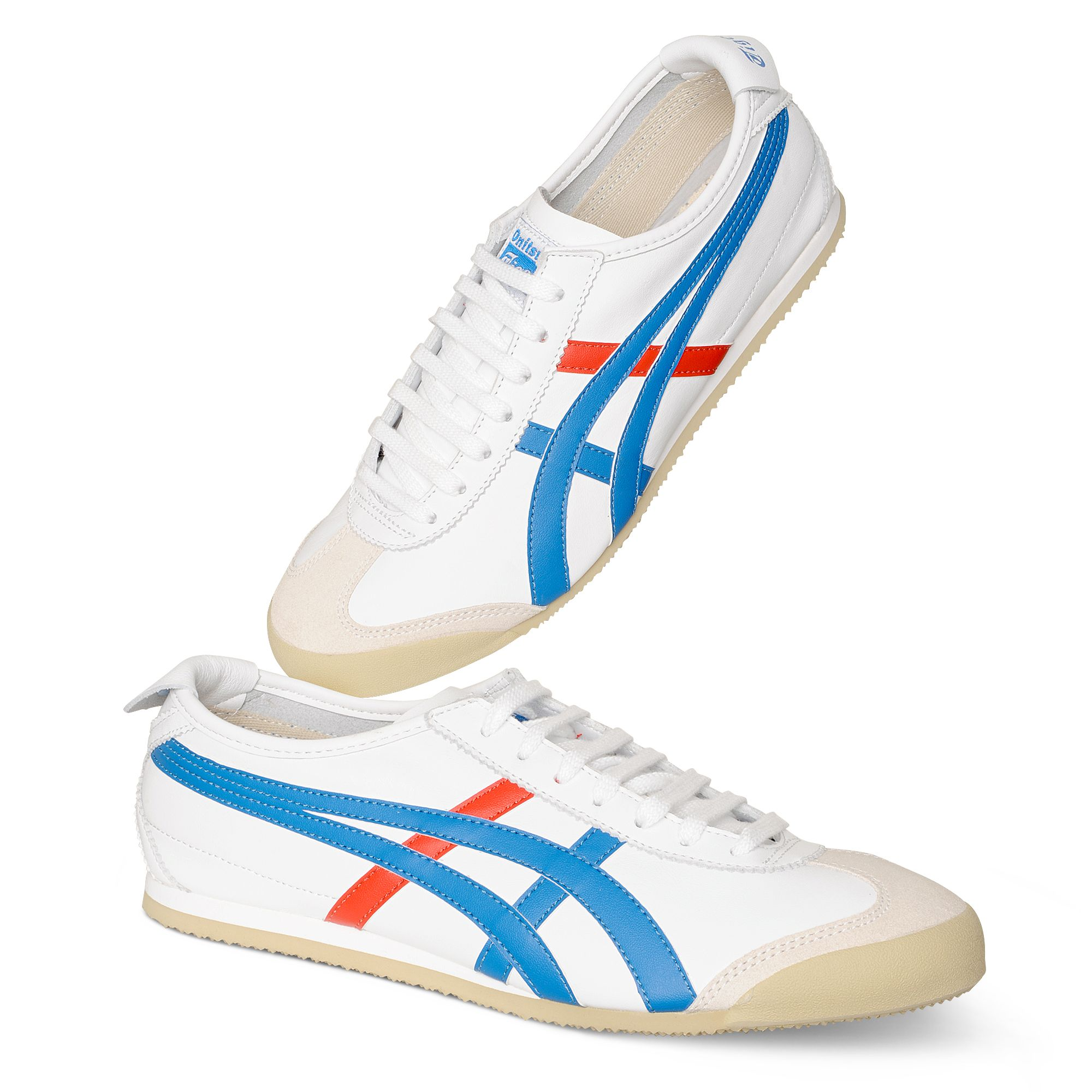 online store a94cb 1258c Onitsuka Tiger Mexico 66 Vintage Trainers in Red (White) for ...
