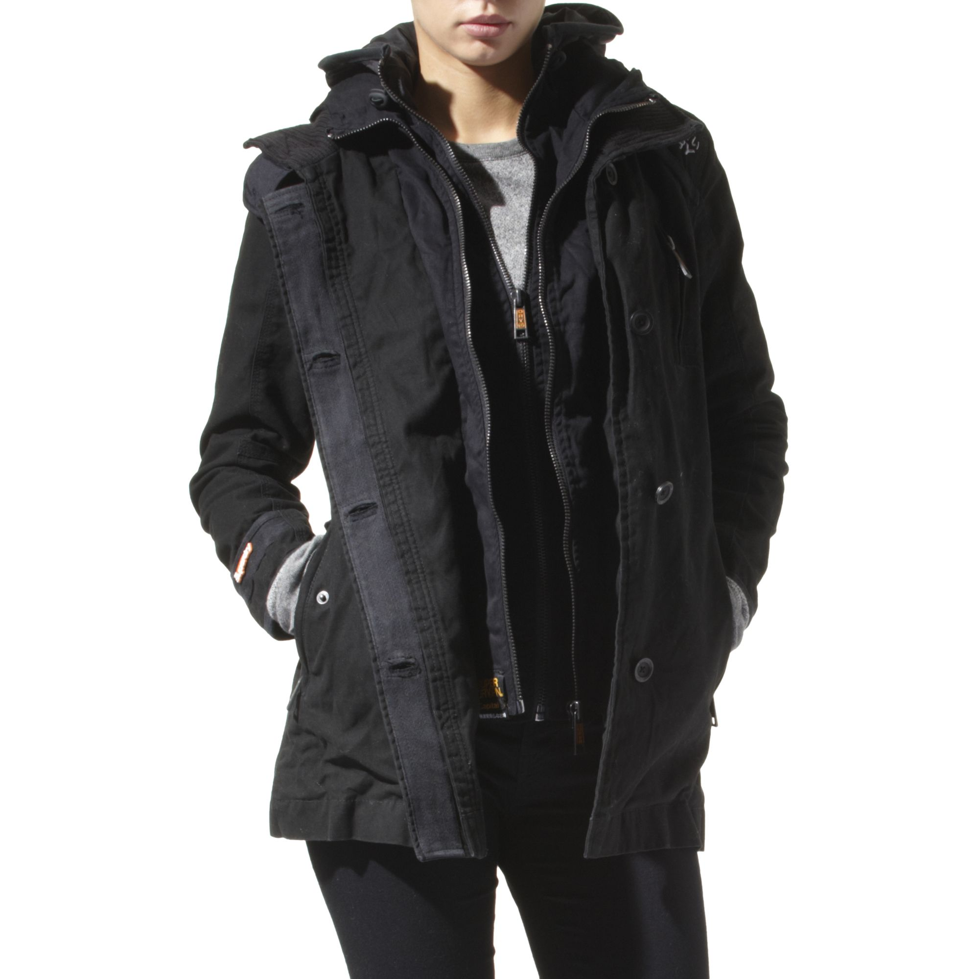 black trench coat with hood - photo #20