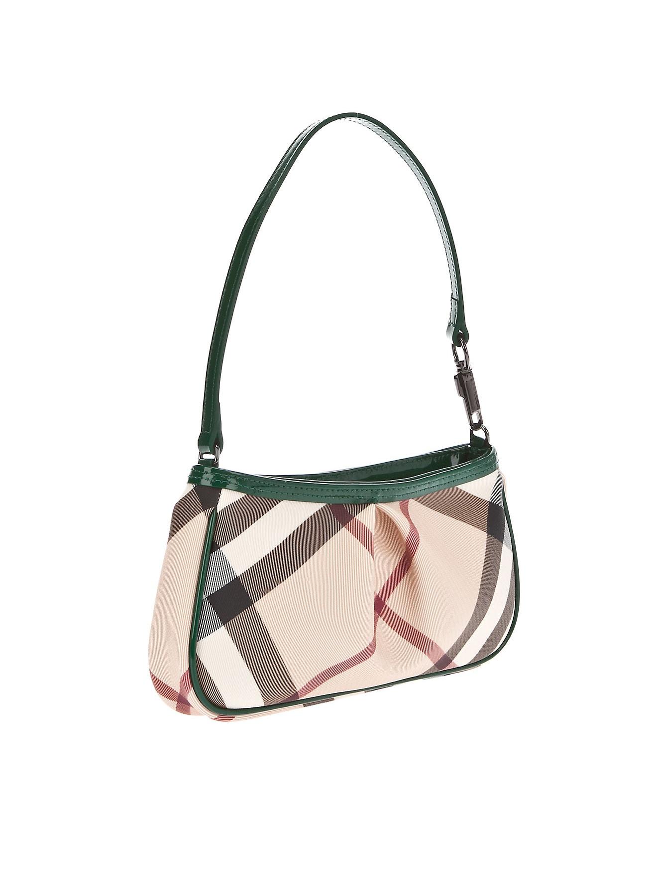 Burberry Nova Check Sling Bag in Natural - Lyst 54db1f3d67985