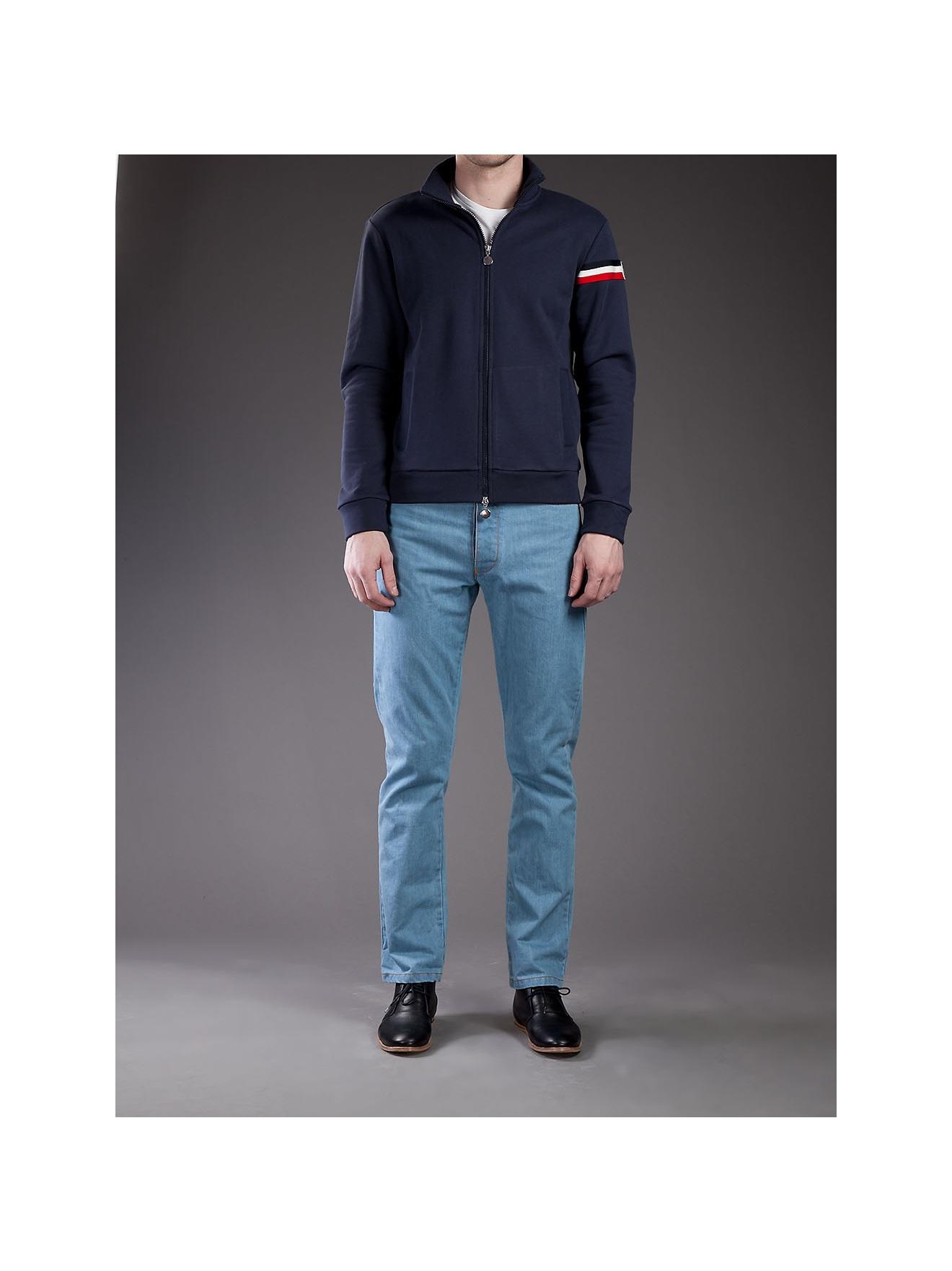 moncler blue jumper
