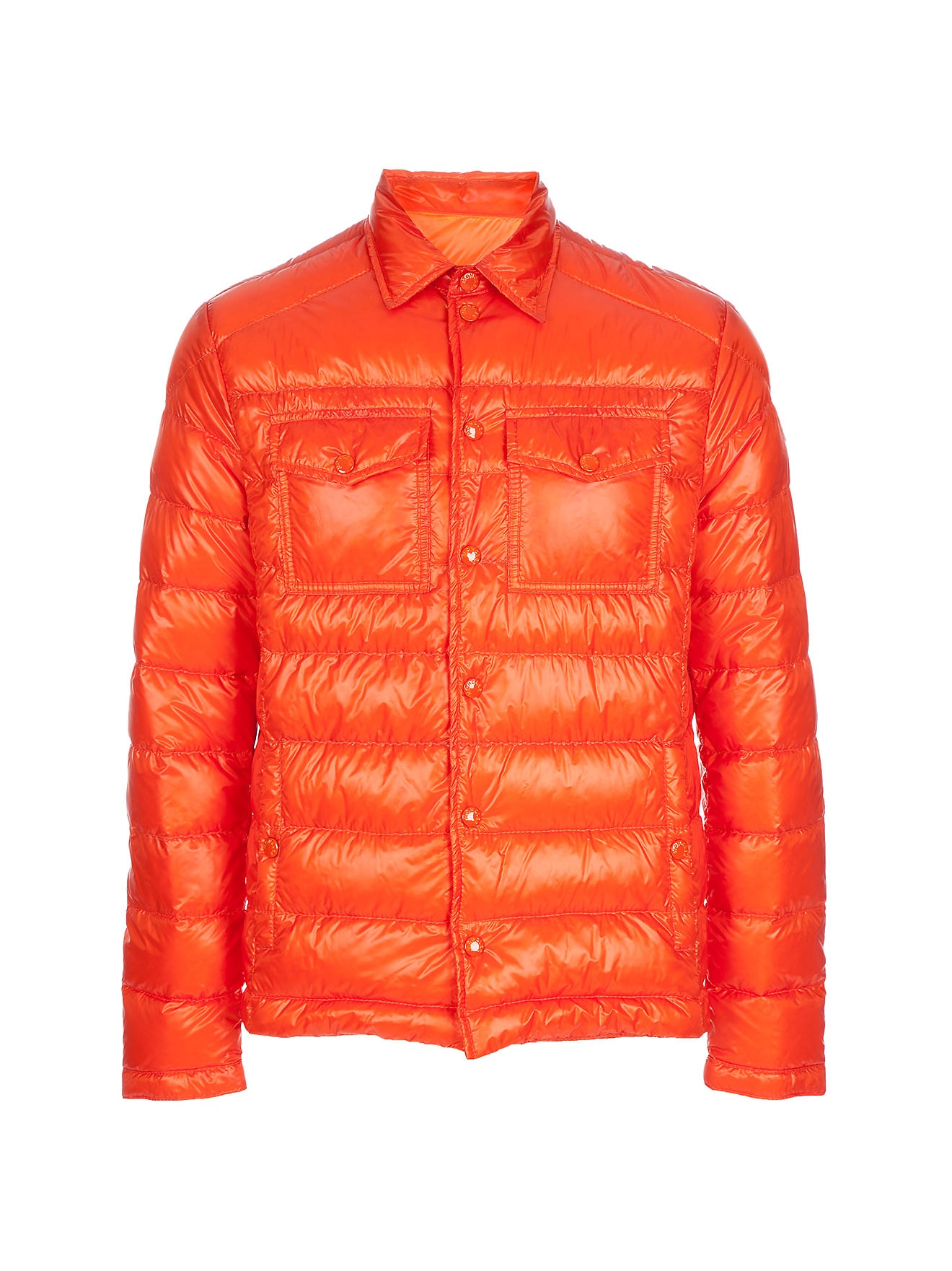 Moncler Gregoire Jacket In Orange For Men Lyst