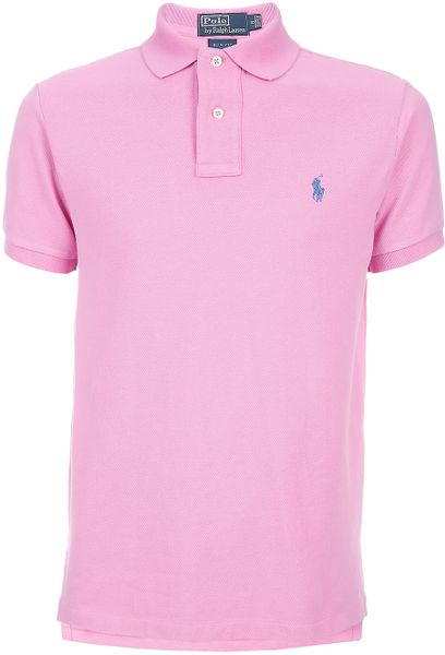 Pink Polo Shirts