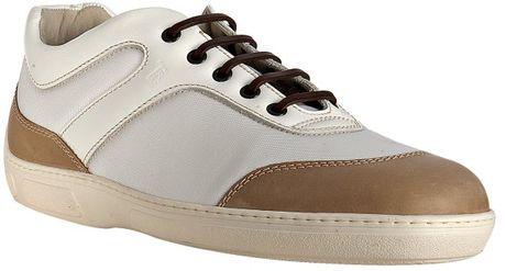 White Nylon Leather Detail 70
