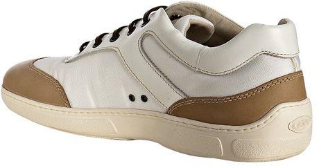 White Nylon Leather Detail 27