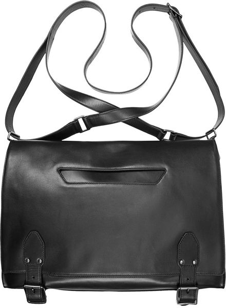 Theyskens Theory Messenger Bag In Black Lyst