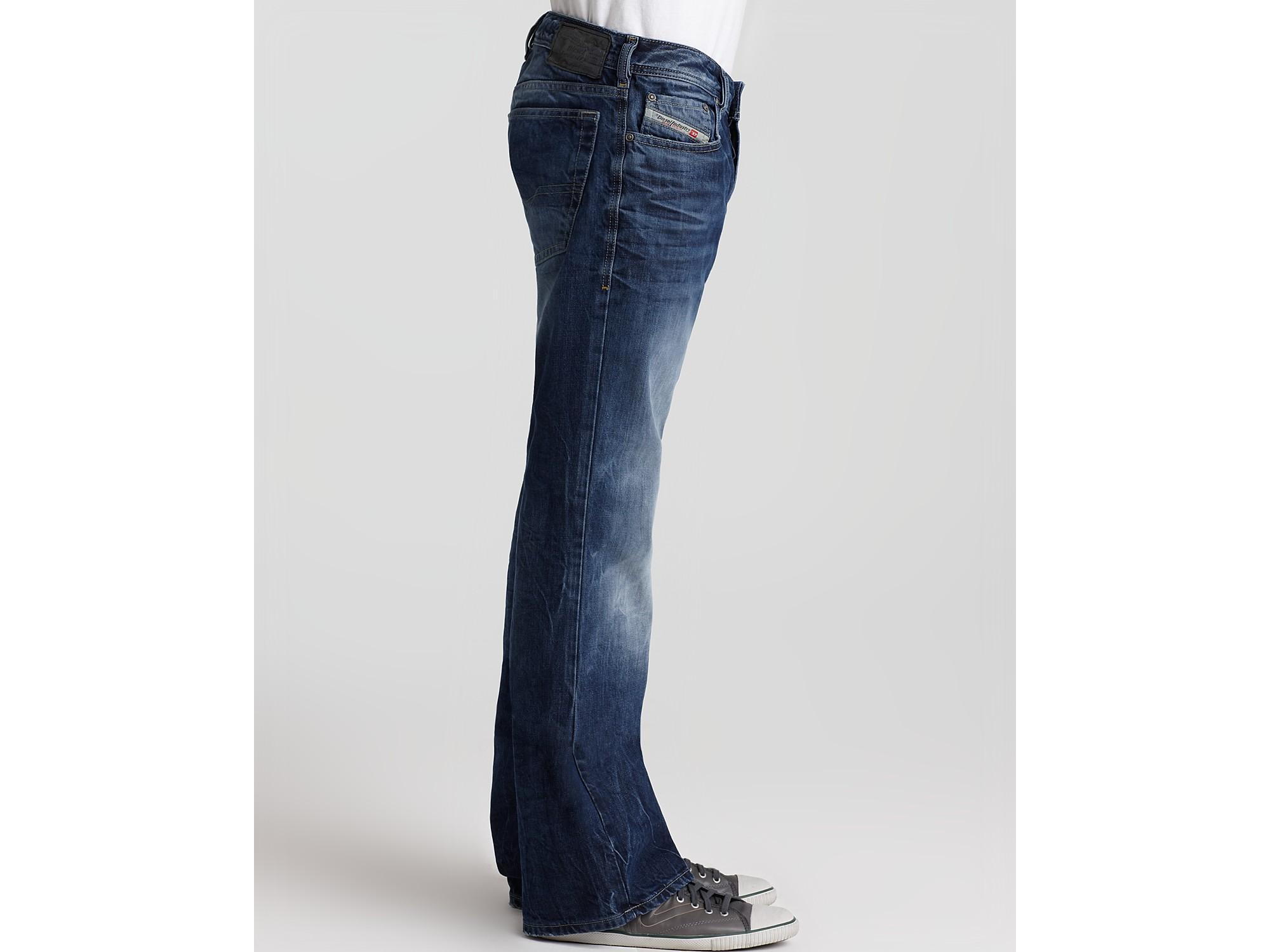 0be7f5f8 DIESEL Zathan 8m2 Bootcut Jean in Blue for Men - Lyst