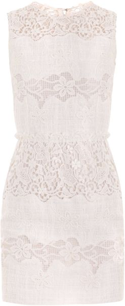 Dolce & Gabbana Short Shift Dress - Lyst
