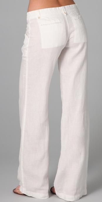 Joie Rome Linen Cargo Pants In White Lyst