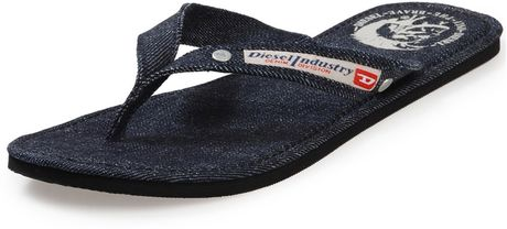 Diesel Casual Shoe  Seaside W in Black (denim) - Lyst