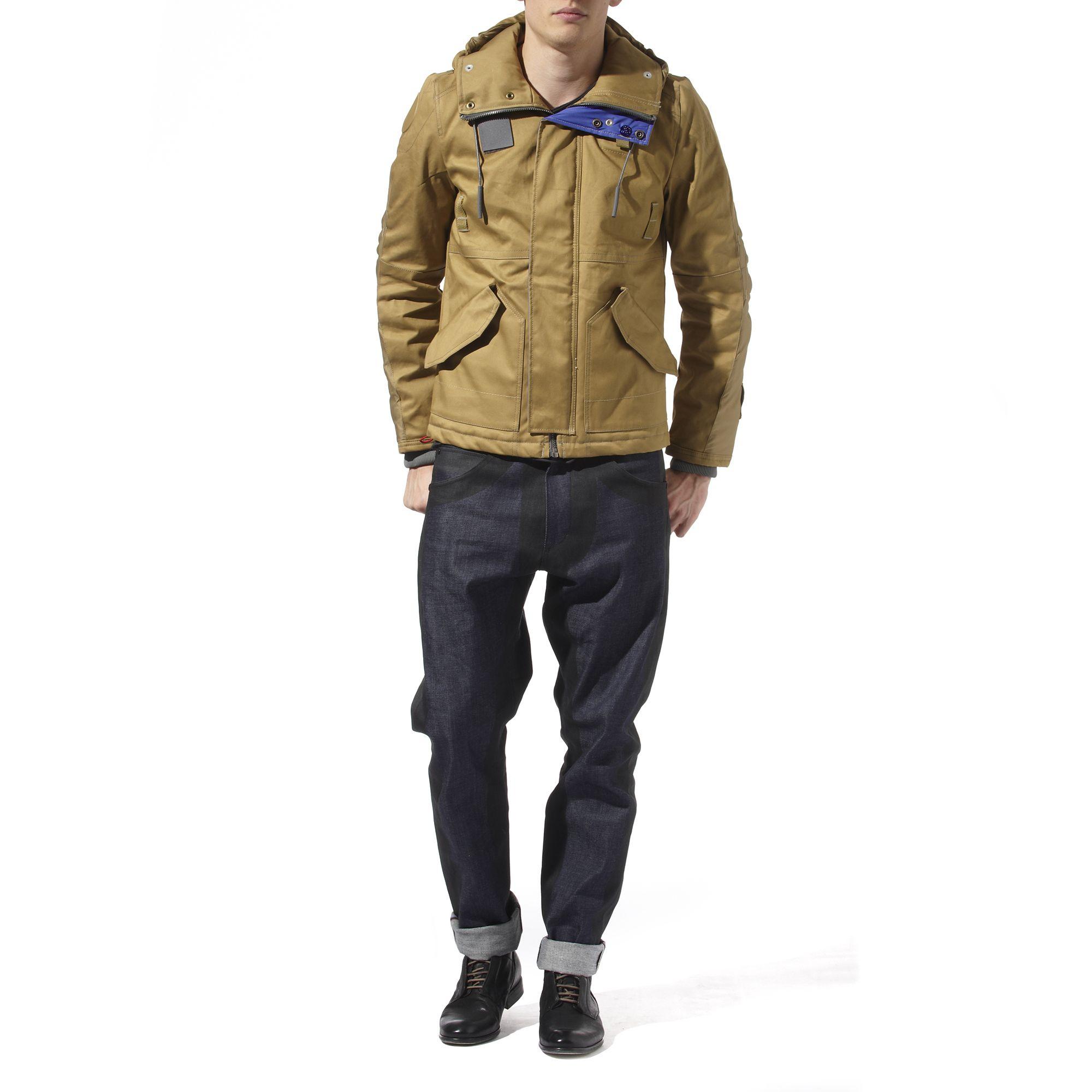 g star raw aero parka jacket in natural for men lyst. Black Bedroom Furniture Sets. Home Design Ideas
