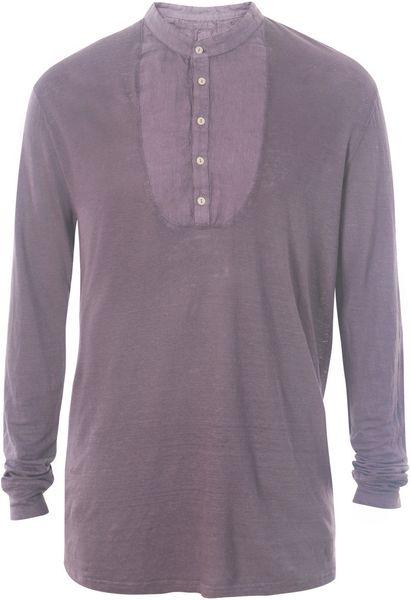 Mens Tunic T Shirt