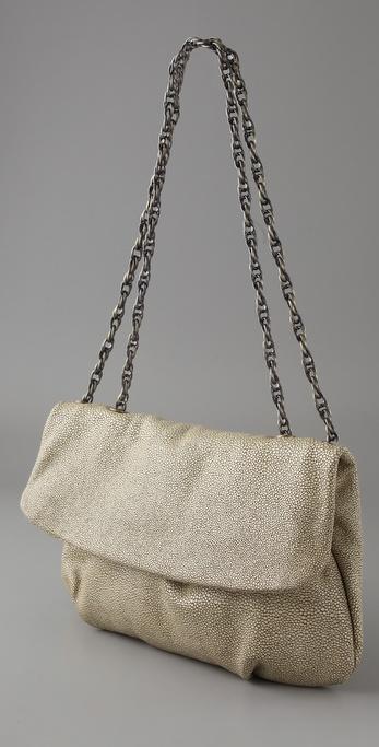 Lyst Elie Tahari Emory Handbag In Natural