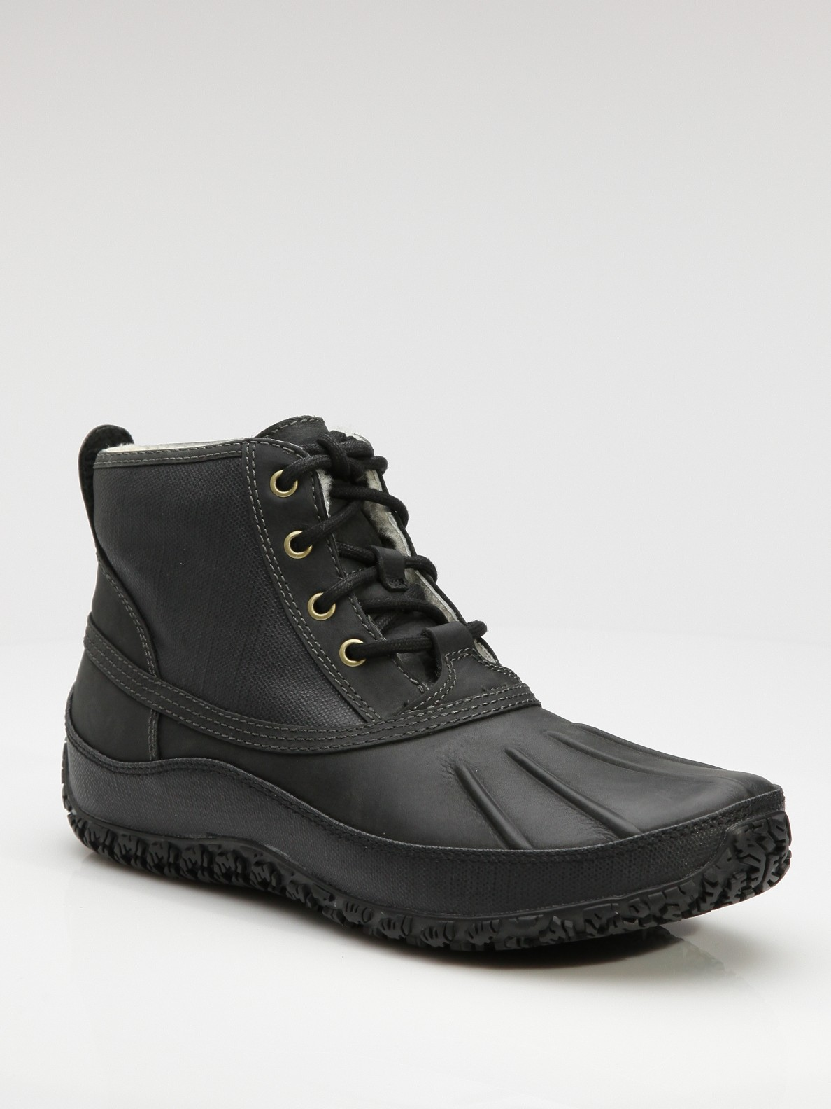 cole haan air vail winter boots in black for men lyst. Black Bedroom Furniture Sets. Home Design Ideas
