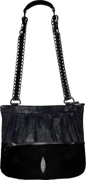 Khirma Eliazov Wristlet Bag in Black - Lyst