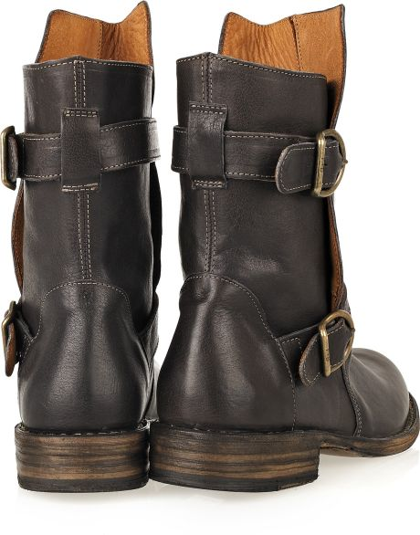 fiorentini baker eternity cusna leather boots in brown lyst. Black Bedroom Furniture Sets. Home Design Ideas