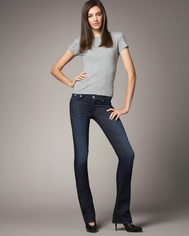rock republic boot cut jeans in blue lyst. Black Bedroom Furniture Sets. Home Design Ideas