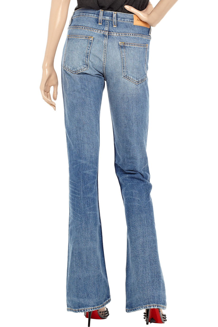 acne luv jeans