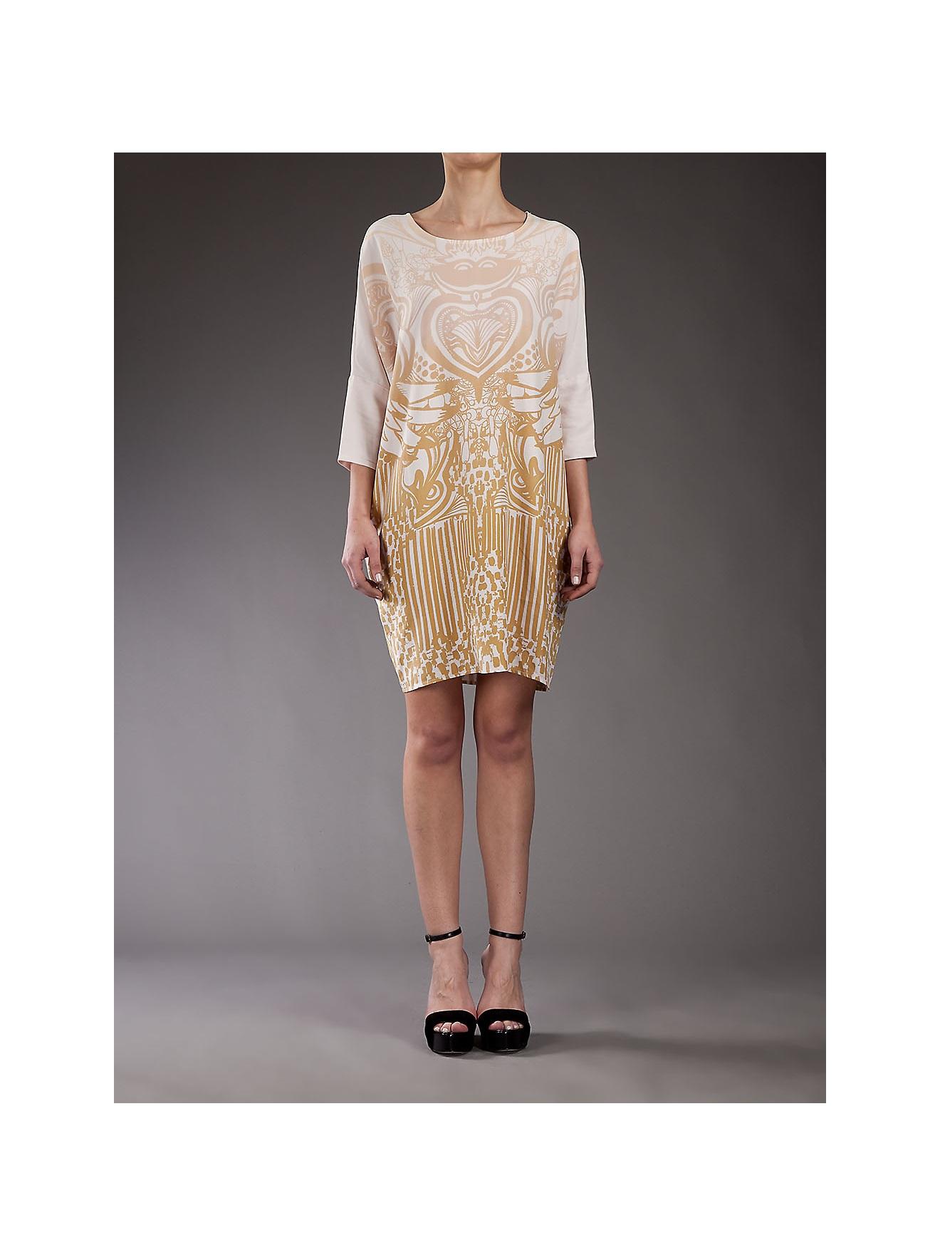 Stine Carla Dress Natural In Lyst Goya rr0x6F