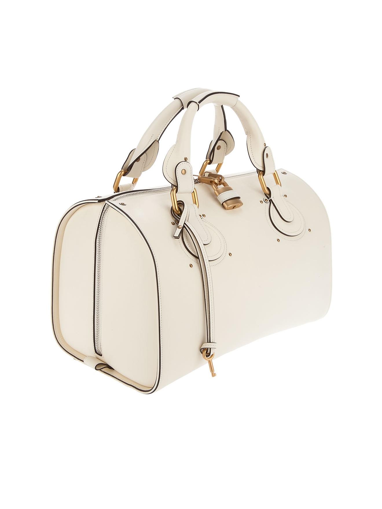 Chlo¨¦ Aurora Bag in Beige (cream) | Lyst