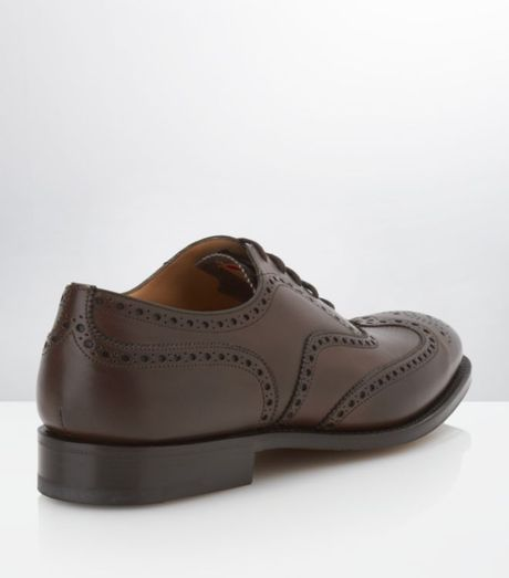Church's Chetwynd Brown Leather Shoe in Brown for Men