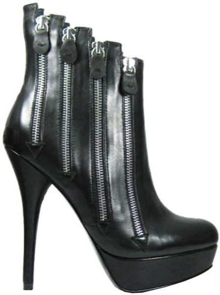 Diavolina Womens Olga Boot Black in Black - Lyst