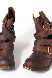 Jeffrey Campbell Brit Boots in Brown - Lyst