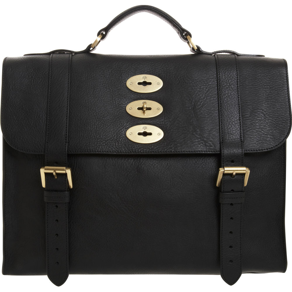 Lyst - Mulberry Ted Briefcase In Black For Men